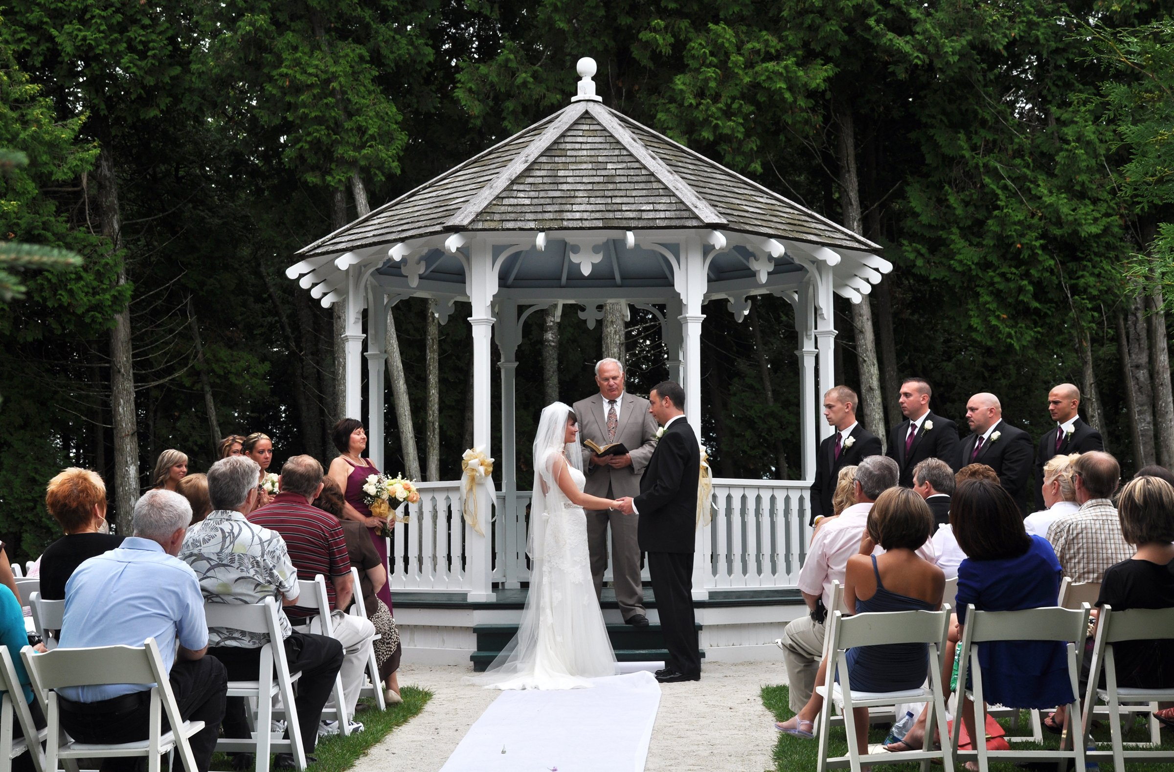 weddings mackinac state historic parks