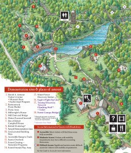 Historic Mill Creek Discovery Park Map