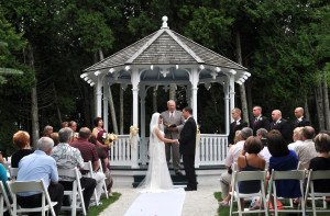 Somewhere In Time Gazebo Wedding