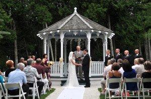 Somewhere In Time Gazebo Wedding Mackinac State Historic
