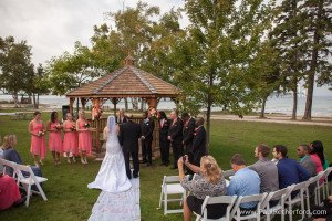 Bridgevew Gazebo - Father with Bride