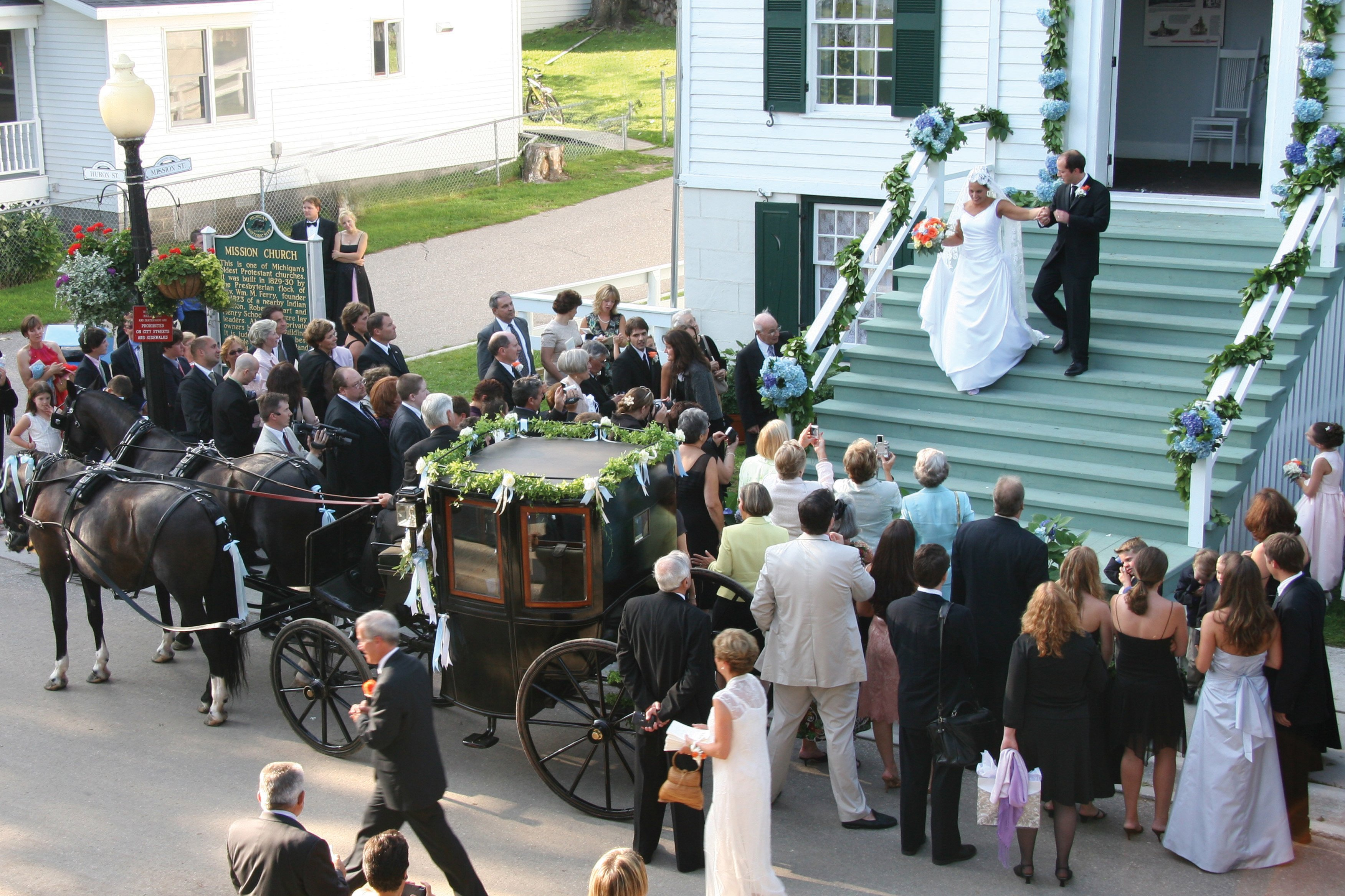 Mackinac State Historic Parks Offers 10 Wedding Venues On Island And In Mackinaw City From The Gazebo Used Movie Somewhere Time