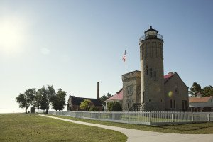Old Mackinac Point Lighthouse Media Photo