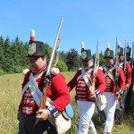 War 1812 British Walking