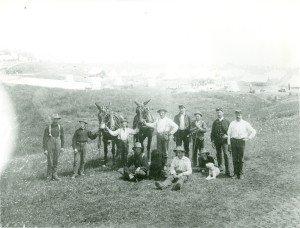 Animals below Fort Mackinac