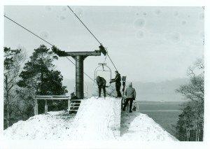 Exiting Chair Lift Mt. Humbard