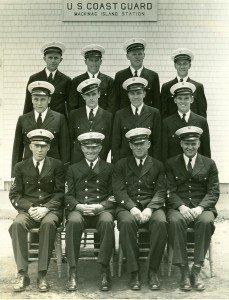 Members of the Coast Guard Station Mackinac Island