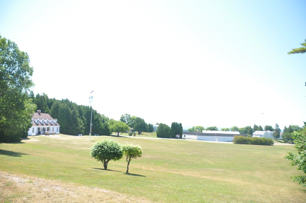A recent photograph of the Parade Ground as it looks today.