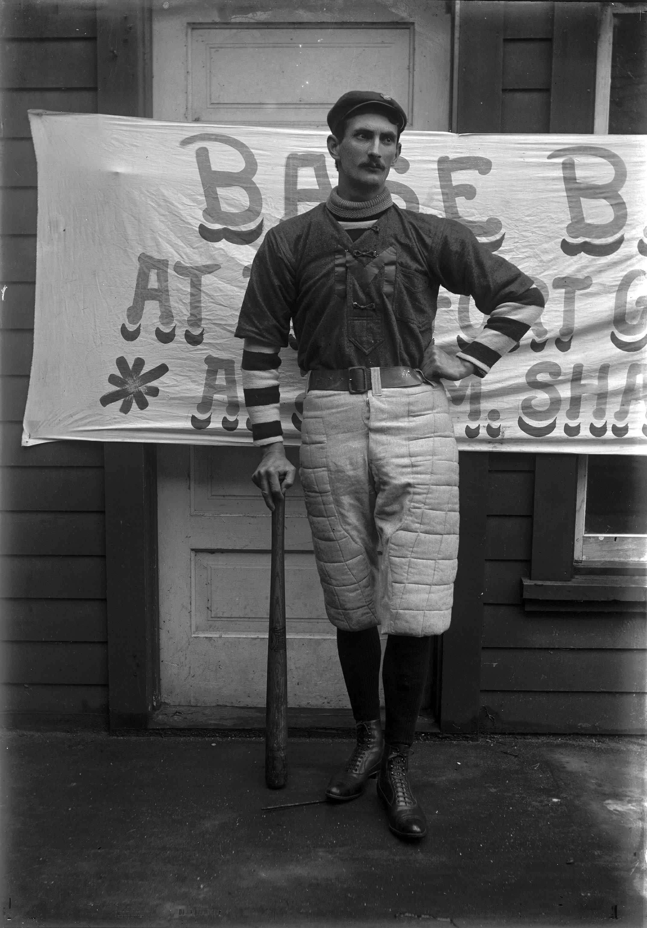 vintage baseball Mackinac