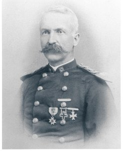Capt. Greenleaf Goodale served as Fort Mackinac's commander between 1886 and 1890. He supervised many improvements in the National Park.