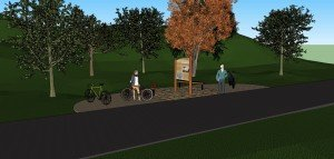 Native American Cultural History Trail Project Rendering