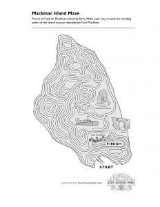 Mackinac Island Maze
