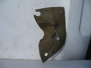 Furniture Keyhole Escutcheon