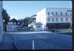 The former site of the hotel, as it appeared in about 1965.