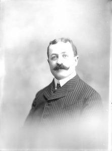 John Bogan, owner, ca. 1910.