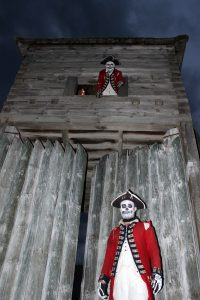 Skeleton Soldiers and Block House