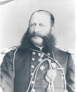 Captain George Brady, commanding officer 1884-86