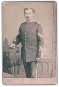 Quartermaster Sergeant John Fletcher, 1885-93