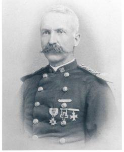 Captain Greenleaf Goodale, commanding officer 1886-90