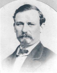 Captain Edwin Sellers, commanding officer 1879-84