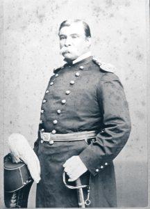 Captain Leslie Smith, commanding officer 1869-74