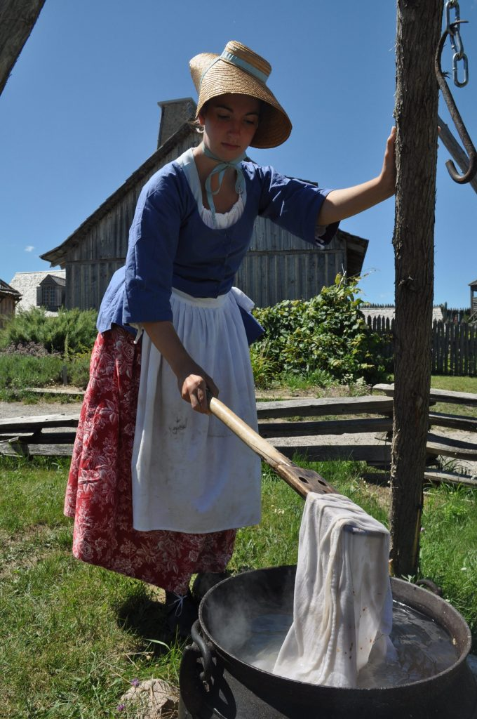 Colonial Laundress
