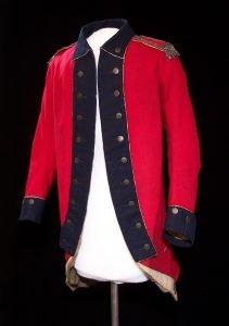 Coat belonging to Charles Langlade. Courtesy of Neville Public Museum.