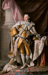 King George III's government attempted to use a variety of taxes to cover expenses following the Seven Years' War.