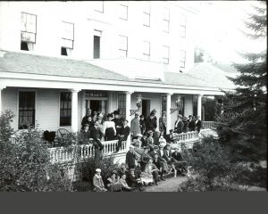 Island House Hotel will celebrate 165 years of welcoming guests in 2017. This image is from the late 1890s.
