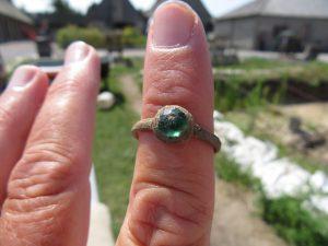 Brass Trade Ring