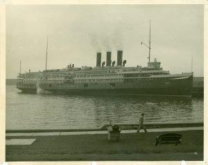 City of Detroit III at Mackinac Island.