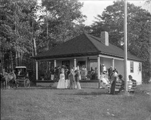 Wawashkamo Club House, ca. 1905.