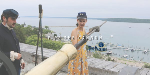 Fort Mackinac - Fire the Cannon