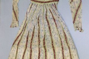Sophia's dress.
