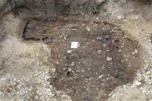 Possible second root cellar.